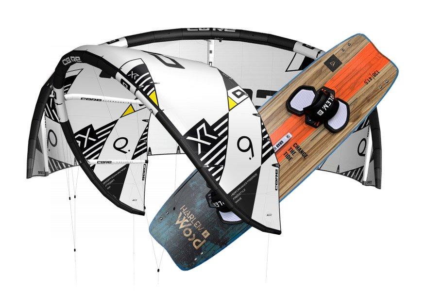 kitesurf beginners materiaal